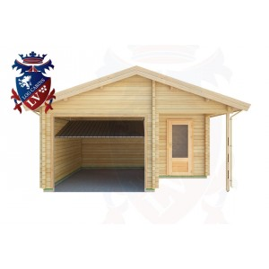 Log Cabins Mount Pleasant 5.0m x 5.5m - 290  1