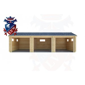 Log Cabins Southease 9.0m x 5.0m - 301 1