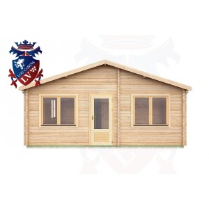 Log Cabins Adversane 6.0m x 8.0m -291 1