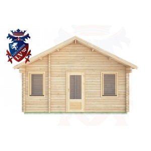 Log Cabins Cuckfield 5.0m x 5.0m -322 1