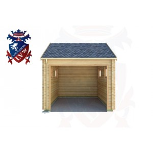 Log Cabins Langney Village 3.0m x 5.0m - 516 1