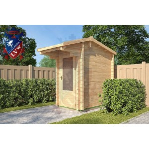 Log Cabins Albourne 1.2m x 2m - 112 2