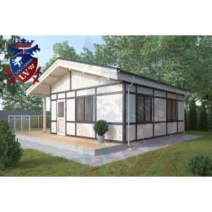 Residential Cabins Balcombe 6.8m x 6.0m 676 1
