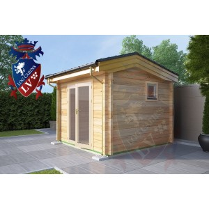Laminated Log Cabins 3.0m x 3.0m - 765 2