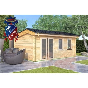 Log Cabins Conyer 5.5m x 4.5m 789 2