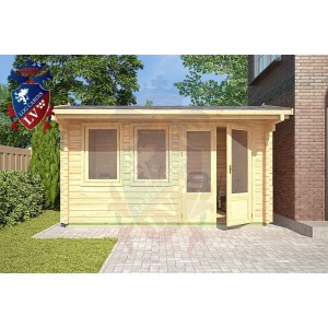 Log Cabins Danehill 4m x 2.5m - 115 2
