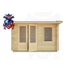 Log Cabins Meads 3.5m x 2.5m - 06 1
