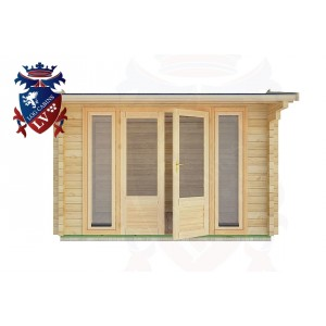 Log Cabins Uckfield 3.5m x 3.0m - 08 1