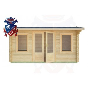 Log Cabins Hangleton 4.5m x 2.0m - 15 1