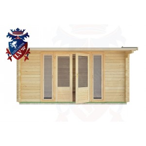 Log Cabins Beckley Furnace 4.5m x 4.0m - 17 1