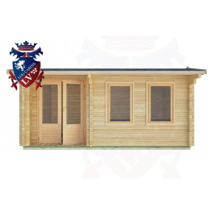 Log Cabins Maresfield 5.0m x 3.5m - 21 1