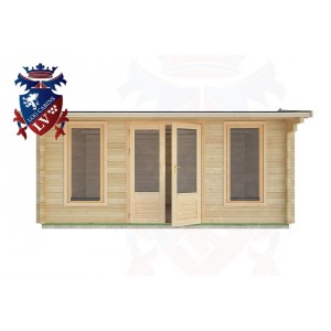 Log Cabins Broomgrove 5.0m x 4.0m - 25  1
