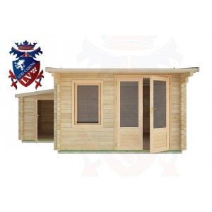 Log Cabins Hirle 5.0m x 4.5m - 26  1