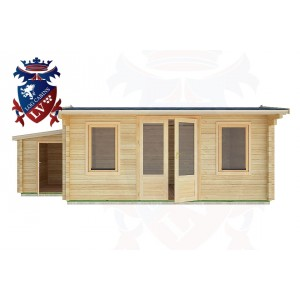 Log Cabins Pevensey Bay 6.5m x 4.0m - 31 1