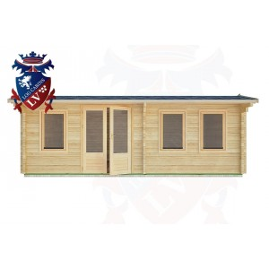 Log Cabins Fairwarp 6.5m x 4.5m - 33 1