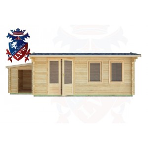 Log Cabins Saltdean 7.0m x 3.5m - 34 1