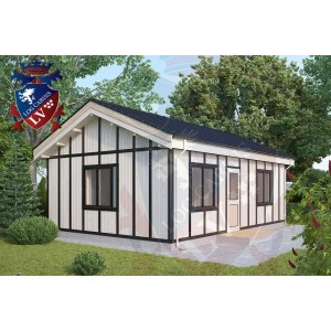Residential Cabins Eartham 7.5m x 5.0m 678 1