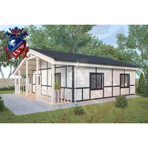 Residential Cabins Exceat 9.0m x 9.5m 698 2