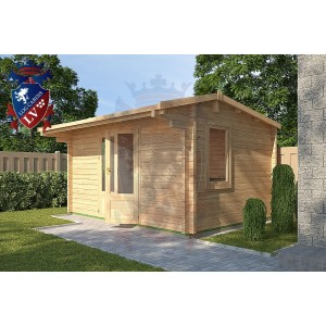 Log Cabins Fairlight 4m x 3m - 117 3