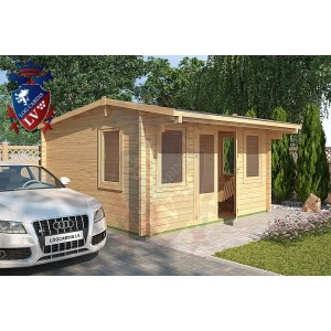 Log Cabins Gatwick 4m x 4m - 118 3