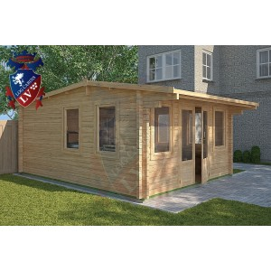 Log Cabins Hailsham 4m x 5m - 118 1