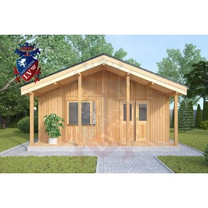 Residential Cabins Hamstreet 6.2m x 9m 718 4