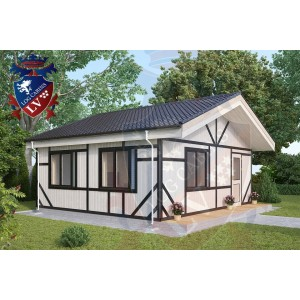 Residential Cabins Hassocks 6.2m x 5.5m 681 2