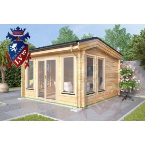 Log Cabins Highgate 4.0m x 4.0m 775 3