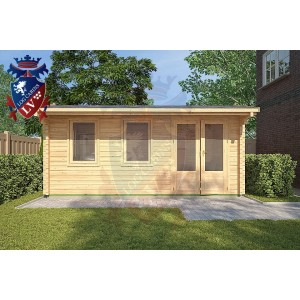 Log Cabins Jevington 5m x 3m - 121 3
