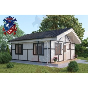 Residential Cabins Jevington 6.0m x 6.2m 683 4