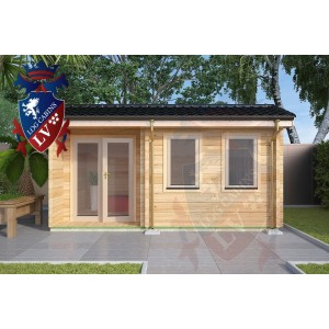 Log Cabins Kilndown 5.0m x 3.5m 782 1