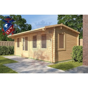 Log Cabins Maplehurst 5.8m x 3m - 124 2
