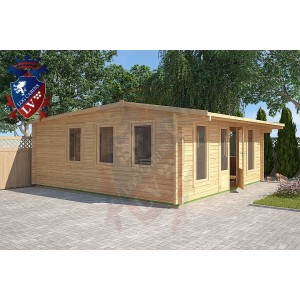 Log Cabins Newhaven 5.8m x 5.8m - 125 4