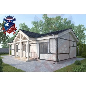Residential Cabins Offham 10.0m x 5.5m 689 5