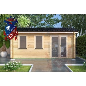 Log Cabins Pegwell 5.5m x 2.5m 788 2