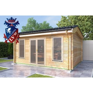 Log Cabins Petham 5.0m x 4.0m 786 1
