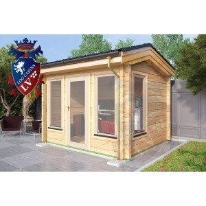 Log Cabins Ruckinge 3.2m x 2.8m 784 3