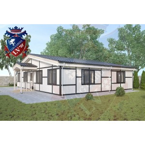 Residential Cabins Walberton 11.5m x 9.5m 696 4