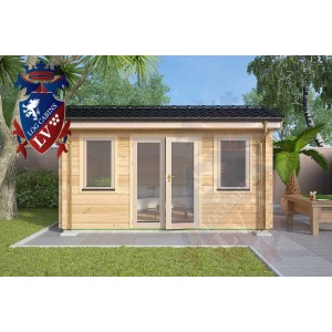 Log Cabins Whitehill 4.5m x 4.5m 779 4