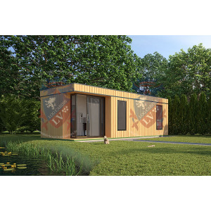 Siberian Larch Clad Fully Insulated Garden Office Victoria 8.0m x 4.0m