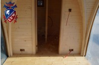 Log Cabin Camping Pod Extension 35