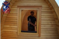 Log Cabin Camping Pod Extension 28