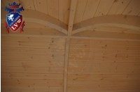 Log Cabin Camping Pod Extension 27