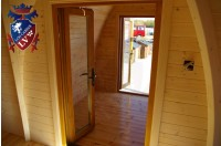 Log Cabin Camping Pod Extension 25