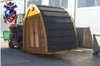 Log Cabin Camping Pod Extension 34