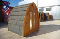 Log Cabin Camping Pod Extension 36