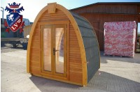 Log Cabin Camping Pod Extension 11