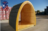 Log Cabin Camping Pod Extension 31