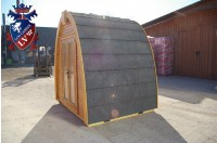 Log Cabin Camping Pod Extension 24
