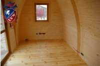 Log Cabin Camping Pod Extension 37